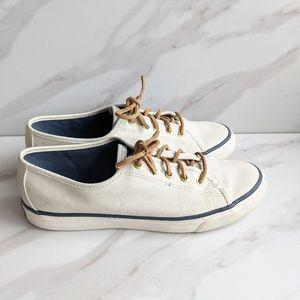 SPERRY Pier View Casual Canvas Slip On Sneakers